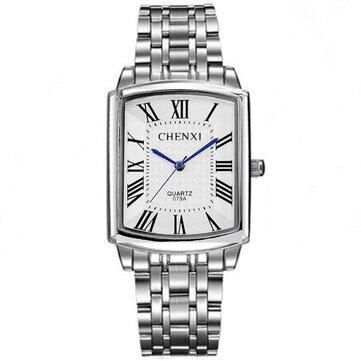 Đồng hồ đeo tay đôi vuông kiểu vuông CHENXI CX-079A