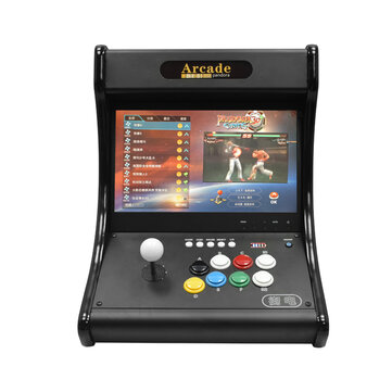 Raspberry PI 4B 4018 Games 14 inch IPS Arcade Game Console 8 Button Design Support PS3 Video Games Table Bartop Machine