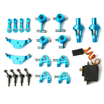 Wltoys K969 K979 K989 1/28 Full Metal Upgraded Parts Kit RC Car Vehicles Model Accessories