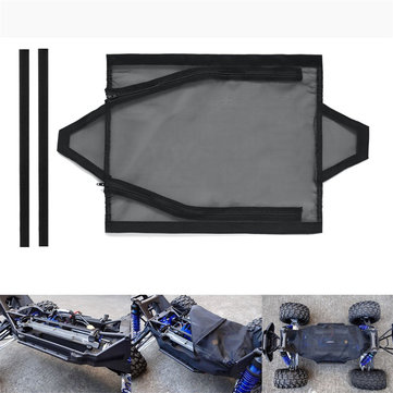 Chassis Dirt Dust Resist Guard Cover for Traxxas X-MAXX XMAXX 77076-4 Black Rc Car Parts
