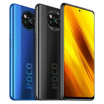 POCO X3 NFC Versão Global Snapdragon 732G 6GB 64GB 6.67 polegadas 120Hz Taxa de atualização 64MP Quad Câmera 5160mAh Octa Core 4G Smartphone