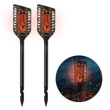 Digoo DG-FLE01 Solar Garden Decoration LED Flame Lamp