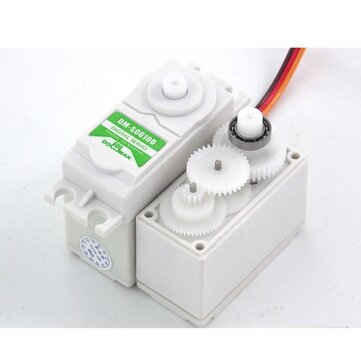 DOMAN DM-S0610D RC Servo 38g/0.15s/6.5kg.cm POM Gear 6kg Digital Plastic Gear for RC Airplane Car Boat Robot