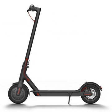 Xiaomi M365 IP54 Black Folding Two Wheels Electric Scooter 12.5kg Ultralight 30km Long Life Intelligent BMS Double Brake System 25 km/h Max. Load 100kg