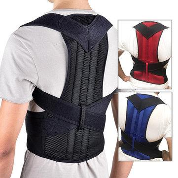 Xmund XD-069 Back Support Protection Back Shoulder Posture Pain Relief Correctorbelt Strap Reinforcement Orthosis Support Fixation Belt Humpback Correction