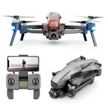 M1 PRO GPS WiFi FPV with 4K ESC Dual HD Camera 2 axis EIS Gimbal 3KM Flight Range Brushless Foldable RC Drone Quadcopter RTF