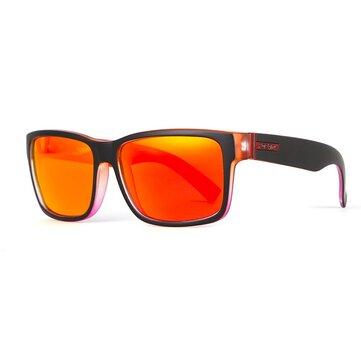 KDEAM KD505 Hombre Polarizado Gafas Bicicleta Ciclismo al aire libre Gafas de sol deportivas con cremallera Caja