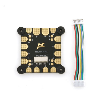 Original Airbot 200A PDB Power Distribution Board & 5CM Cable Wire for RC Drone FPV Racing