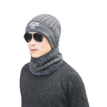 Mũ len cổ ấm hơn Mũ mặt nạ Mũ Balaclava Khăn len cho nam