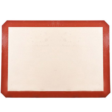 Honana 40x30cm Silicone Baking Mat Fiber Glass Non-stick Baking Cake Cookie Bread Pad