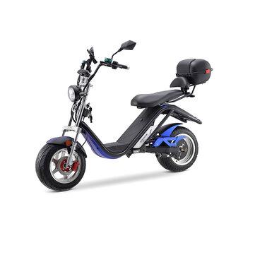 [EU DIRECT] DAYI MOTOR E3.0 30AH 60V 3000W Oil Brake Electric Motorcycle 45km_h Top Speed 70_75km Mileage Range Max Load 233Kg