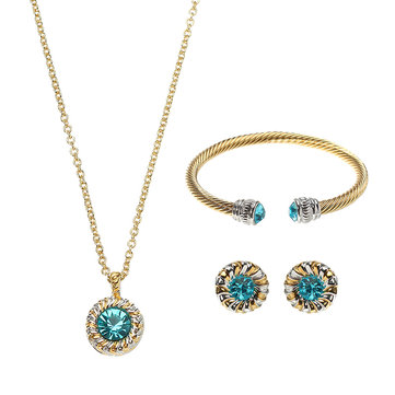 JASSY Luxury Jewelry Set Gemstone Best Gift For Women