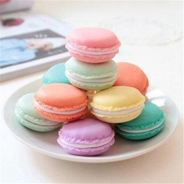 Honana BD-534 Cute Candy Color Macaron regalo de cumpleaños Mini Caja Impermeable Joyas de almacenamiento Anillos Píldora Caja