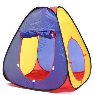 2.8M Three In One Outdoor Children's Tent Crawl Tunnel Cubic Shape Playhouse for Kids