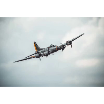 $100 OFF for QTMODEL B-17 Bomber 1830mm Wingspan Airplane EPO Warbird RC Aircraft KIT/PNP