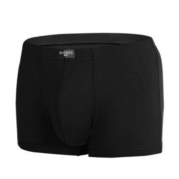 पुरुषों मॉडल यू आकार के उत्तल पाउच अंडरपैंट आरामदायक श्वास अंडरवियर बॉक्सर