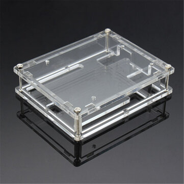 Transparent Acrylic Shell Box For UNO R3 Module Case Geekcreit for Arduino - products that work with official Arduino boards