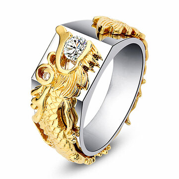 Luxury gold dragon men ring aliexpress top 10 facts about steroids