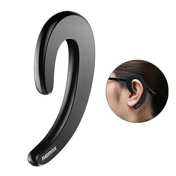 REMAX RB-T20 Ultrathin Earhook Unilateral bluetooth Earphone Headphone Dengan Mic