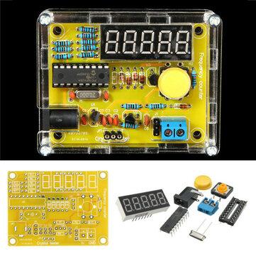 Geekcreit®DIY周波数テスター1Hz〜50MHzクリスタルカウンターメーター、ハウジングキット付き