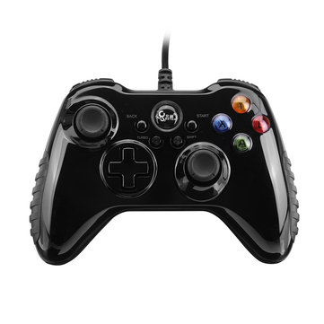 Betop BTP-2175S2 Wired Vibration Turbo Gamepad for PC PS3 Intelligent TV Android Mobile Phone