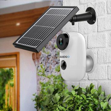 GUUDGO A3 Kamera ve Solar Panel Seti 1080P Kablosuz Şarj Edilebilir Akülü Güvenlik Kamera Su Geçirmez