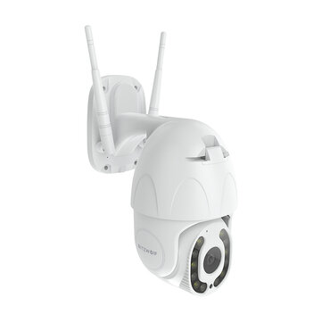 Blitzwolf® BW SHC3 PTZ 1080P Outdoor Security Wifi IP Camera Coupon Code and price! - $46