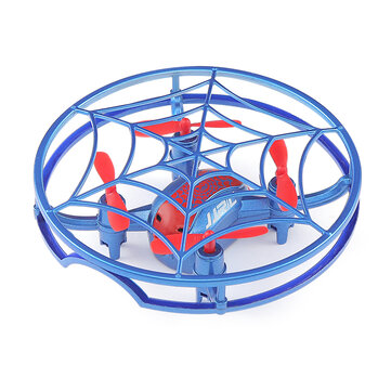 JJRC H64 Spiderman dengan Kontrol G-Sensor Suara Prompt Altitude Hold Mode RC Drone Quadcopter