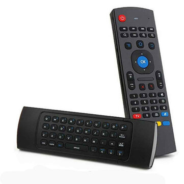 MX3 2.4G Wireless Six Axis Gyroscope Keyboard Remote Control Air Mouse