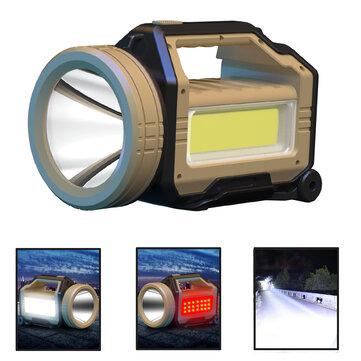 XMUND XD FL19 XHP90 1500M 30W Ultra Bright Long Throw LED Flashlight Searching Light Outdoor Waterprof Work Lamp