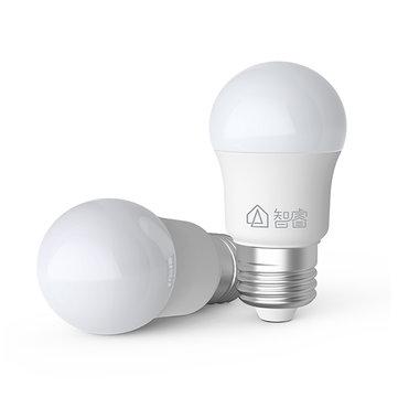 Xiaomi Mijia Zhirui E27 5W 500LM White LED Globe Light Bulb for Indoor Home Ceiling Lamp AC220V