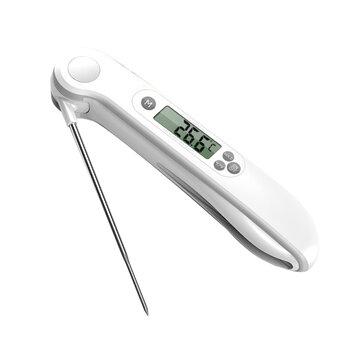 Minleaf ML-CT2 Kitchen Food Thermometer ±1°C Baby Milk Thermometer Backlight Display BBQ Thermometer