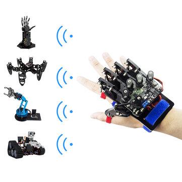 Open Source UNO Somatosensory Wearable Robot Gloves