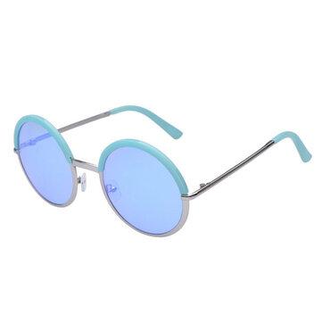 महिला देवियों रेट्रो दौर लेंस यूवी संरक्षण सूर्य ग्लासस पूर्ण फ्रेम Eyewear