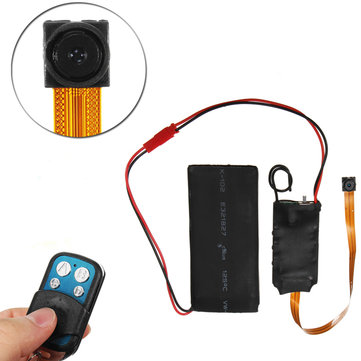 S01 1080P Wireless IP Camera Module Screw Camcorder with Remote Control