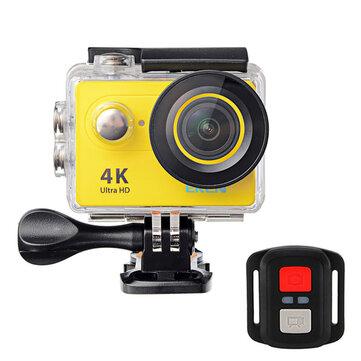 ईकेएन एच 9 आर स्पोर्ट एक्शन कैमरा 4K अल्ट्रा HD 2.4 जी रिमोट वाईफाई 170 डिग्री वाइड एंगल