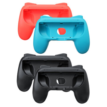2pcs For Nintendo Switch Joy-Cons Grips Kit Game Controller Handle Handheld Holder