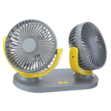 How can I buy 24V Mini Dual Head Fan Car Van Home Silent Cooler Cooling Fan USB Rechargeable Outdoor Camping Travel with Bitcoin