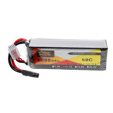 US$32.18ZOP Power 11.1V 5200mah 50C 3S Lipo Battery TRX Plug for Wltoys 1/8 RC CarRC Toys & HobbiesfromToys Hobbies and Roboton banggood.com