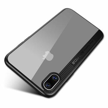 """Bakeey Beskyttelsesveske til iPhone XS Maks 6,5 """"Clear Transparent Shockproof Hybrid PC TPU Bakdeksel"""