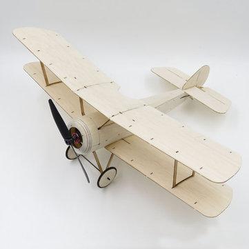 Sopwith Pup Balsa Wood 378mm Wingspan Biplane Warbird Aircraft Kit