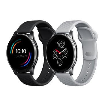 bluetooth Call Original OnePlus Watch 46MM 1.39 inch AMOLED Screen 110 Sports Modes BT5.0 Heart Rate Blood Oxygen Monitor Music Player 5ATM+IP68 Waterproof GPS Smart Watch
