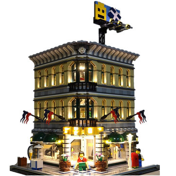 LED Light Kit For Lego 10211 Creator Grand Emporium Blocks Accessories Toys Decor