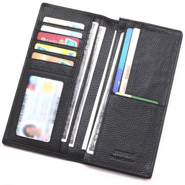 Men Pu Leather 8 Card Slots Wallet Credit Card Wallet