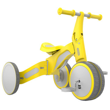 XIAOMI 700Kids TF1 Child Deformable Balance Car Kids' Tricycle 2 In 1 Ride and Slip Coupon Code and price! - $92