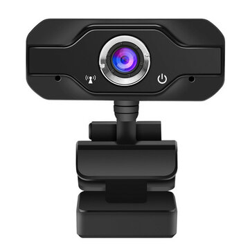 Buy Bakeey 1080P Full HD Webcam Built-in Microphone Widescreen Video Calling Recording with Litecoins with Free Shipping on Gipsybee.com