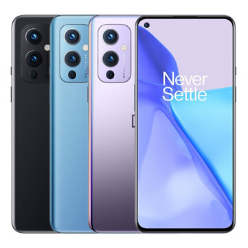OnePlus 9 5G Global Rom 12GB 256GB Snapdragon 888 6.55 inch 120Hz Fluid AMOLED Display NFC Android 11 48MP Camera Warp Charge 65T Smartphone Coupon Code! - $715.11