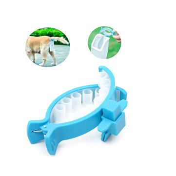 애완 동물 강아지 야외 푸퍼 스쿠퍼 클립 애완 동물 야외 여행 방수 화장실 개 휴대용 화장실