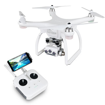 UPair 2 Ultrasonic 5.8G 1KM FPV 3D + 4K + 16MP Camera With 3 Axis Gimbal GPS RC Quadcopter Drone RTF