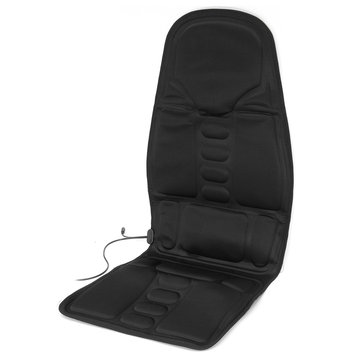 Neck Lumbar Back Pain Relief Tools Massage Heating Relaxation Mat Seat Cushion Vehicle-mounted Household